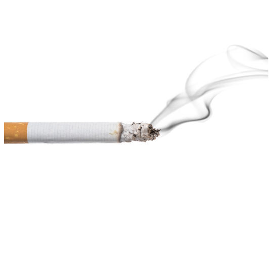 Tochter raucht kette